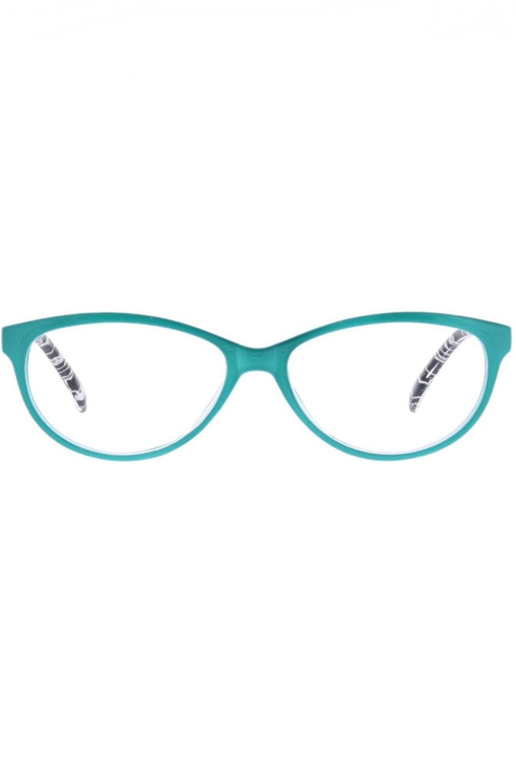 Peepers  Biscayne Turquoise/Blk Crackle - Front Full Image