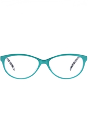Peepers  Biscayne Turquoise/Blk Crackle - Front full body