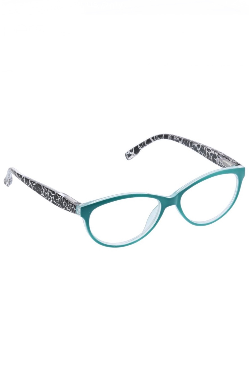 Peepers  Biscayne Turquoise/Blk Crackle - Main Image