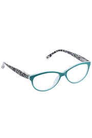 Peepers  Biscayne Turquoise/Blk Crackle - Front cropped