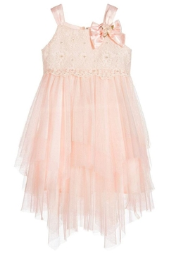 Biscotti Netting Tiered Dress - Product List Image