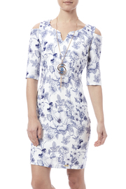 Biscuit Floral Printed Dress - Product Mini Image