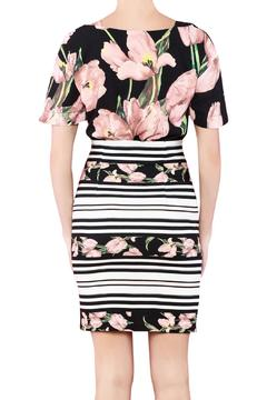 Biscuit Flower Print Dress - Alternate List Image