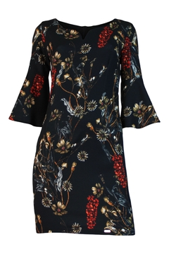 Biscuit Flower Printed Dress - Product List Image