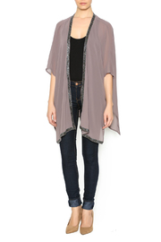 Bishop + Young Beaded Trim Kimono - Front full body