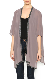 Bishop + Young Beaded Trim Kimono - Product Mini Image