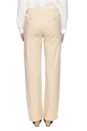 Bishop + Young Button Front Pants - Back cropped