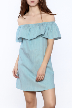 Shoptiques Product: Chambray Tiered Dress