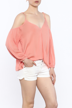 Shoptiques Product: Crossover Cold Shoulder top