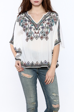 Shoptiques Product: White Embroidered Top