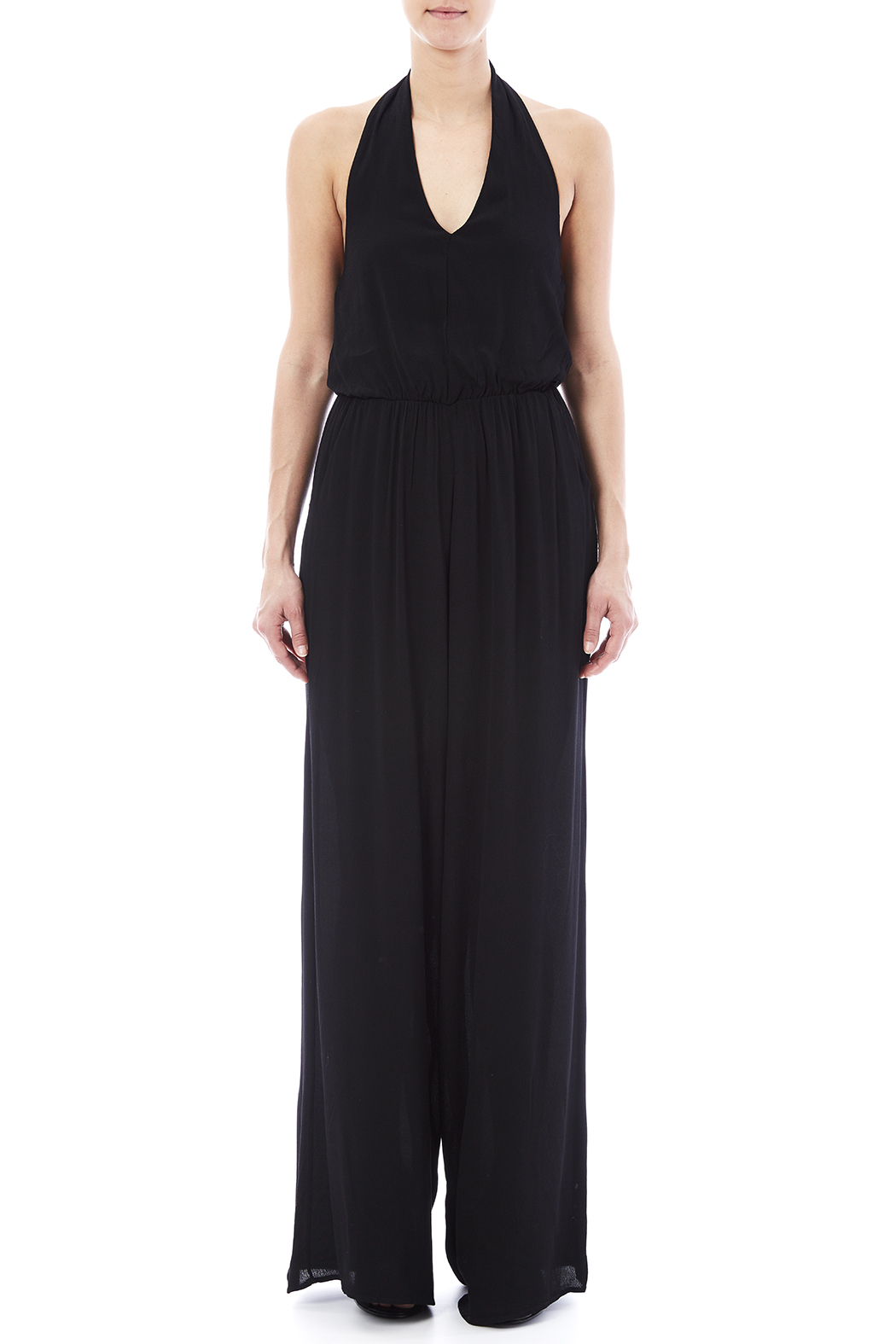 Bishop + Young Halter Jumpsuit - Front Cropped Image