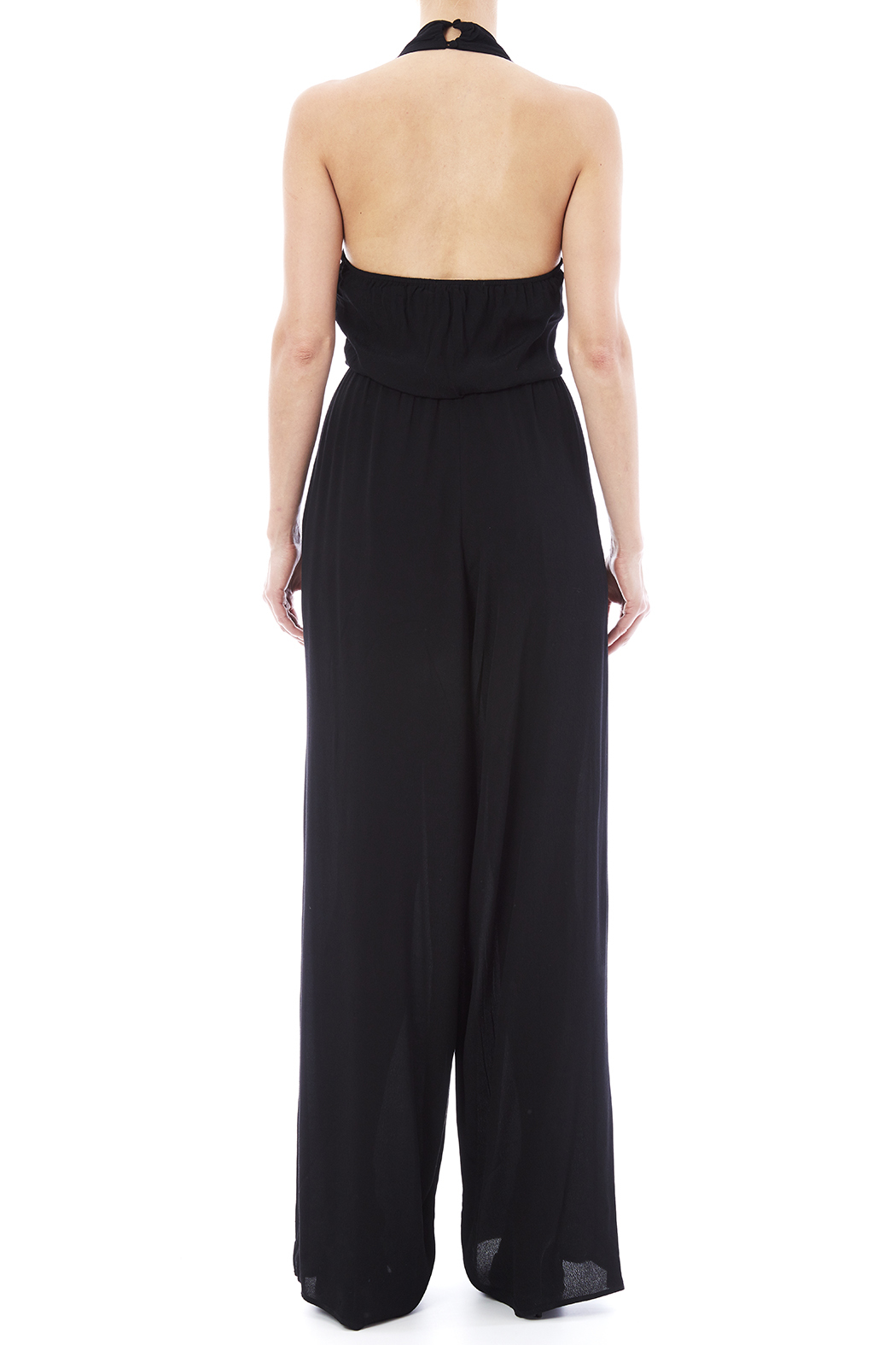 Bishop + Young Halter Jumpsuit - Back Cropped Image