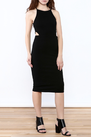 Bishop + Young Black Cut-Out Dress - Product Mini Image