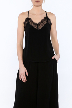 Shoptiques Product: Black Lace Camisole