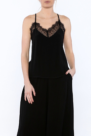 Bishop + Young Black Lace Camisole - Product Mini Image