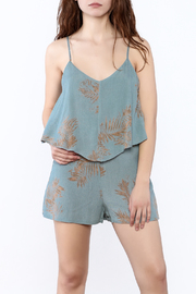 Bishop + Young Luna Print Romper - Front cropped