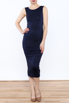 Shoptiques Product: Navy Midi Dress