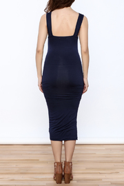 Bishop + Young Mia Midi Dress - Back cropped
