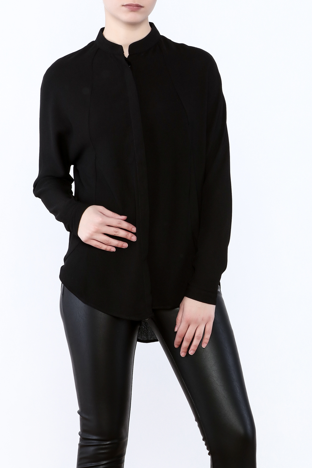 Bishop + Young Open Back Blouse - Main Image