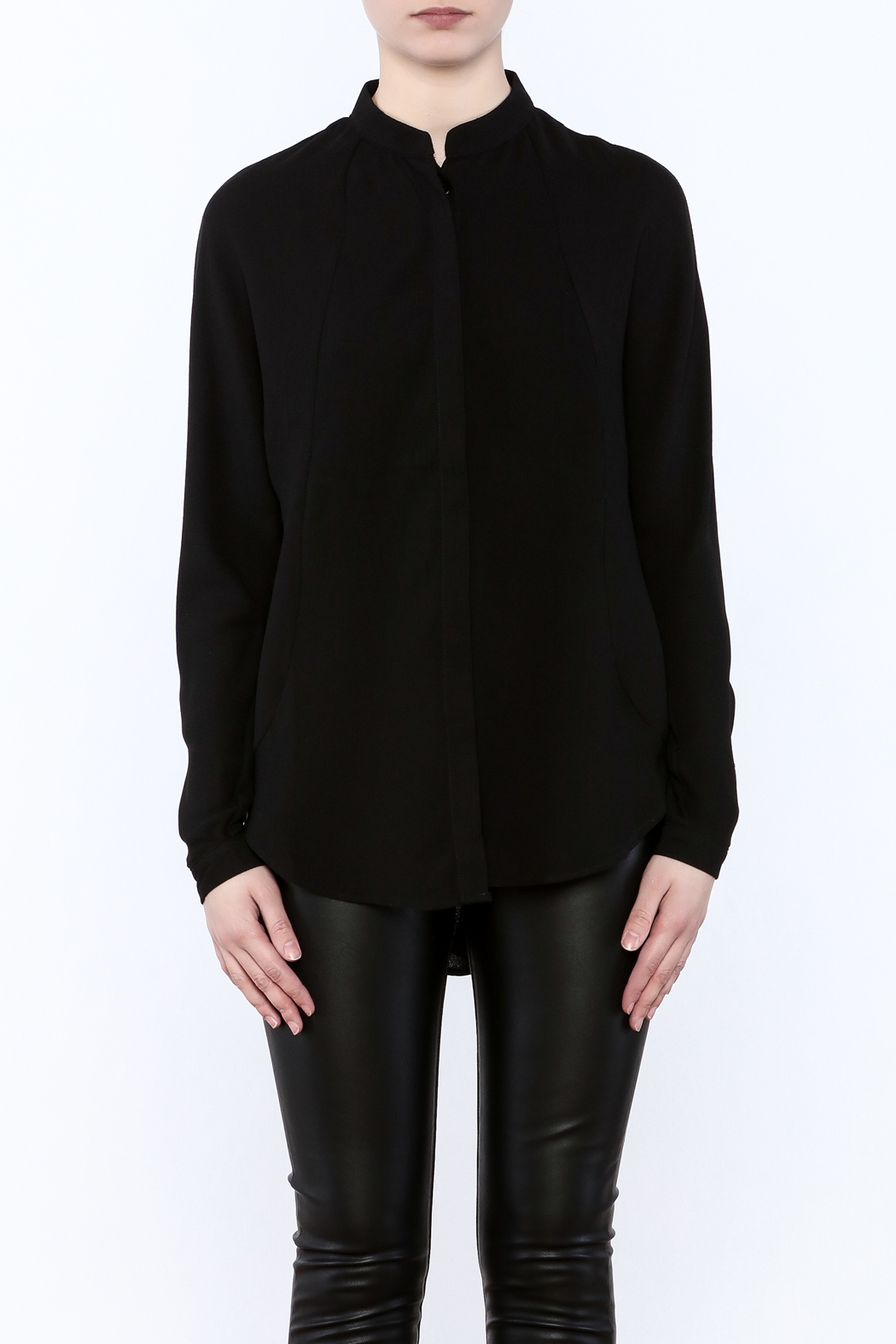 Bishop + Young Open Back Blouse - Side Cropped Image