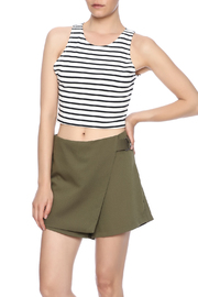 Bishop + Young Stripe Knit Crop Top - Product Mini Image