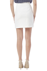 Bishop and Young Asymmetrical Skirt - Back cropped