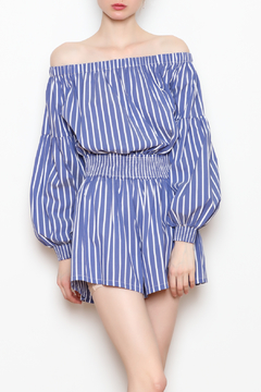 Shoptiques Product: Off the shoulder romper