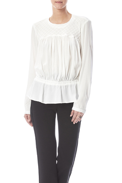 Shoptiques Product: Pintuck Drop Waist Blouse