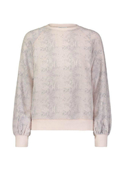 David Lerner Bishop Snakeskin Pullover - Product Mini Image