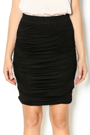 Bishop + Young Black Ruched Skirt - Other