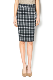 Bishop + Young Plaid Pencil Skirt - Product Mini Image