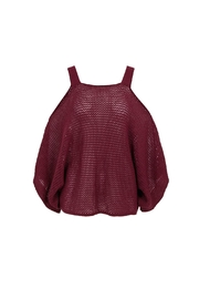 Bishop + Young Ana Cold Shoulder Sweater - Product Mini Image