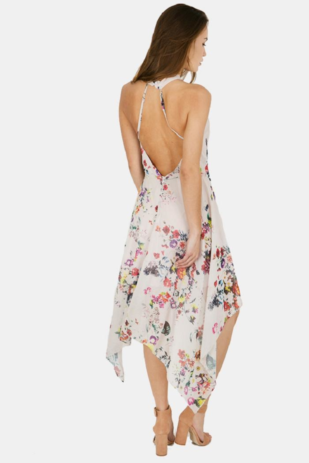 Bishop + Young Ana Floral Halter - Front Full Image