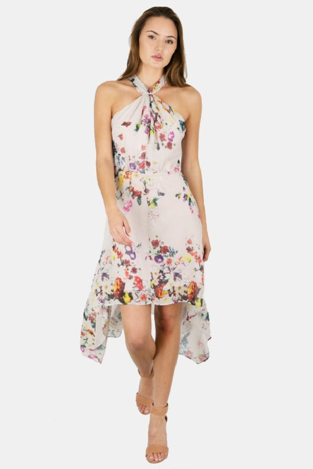 Bishop + Young Ana Floral Halter - Front Cropped Image