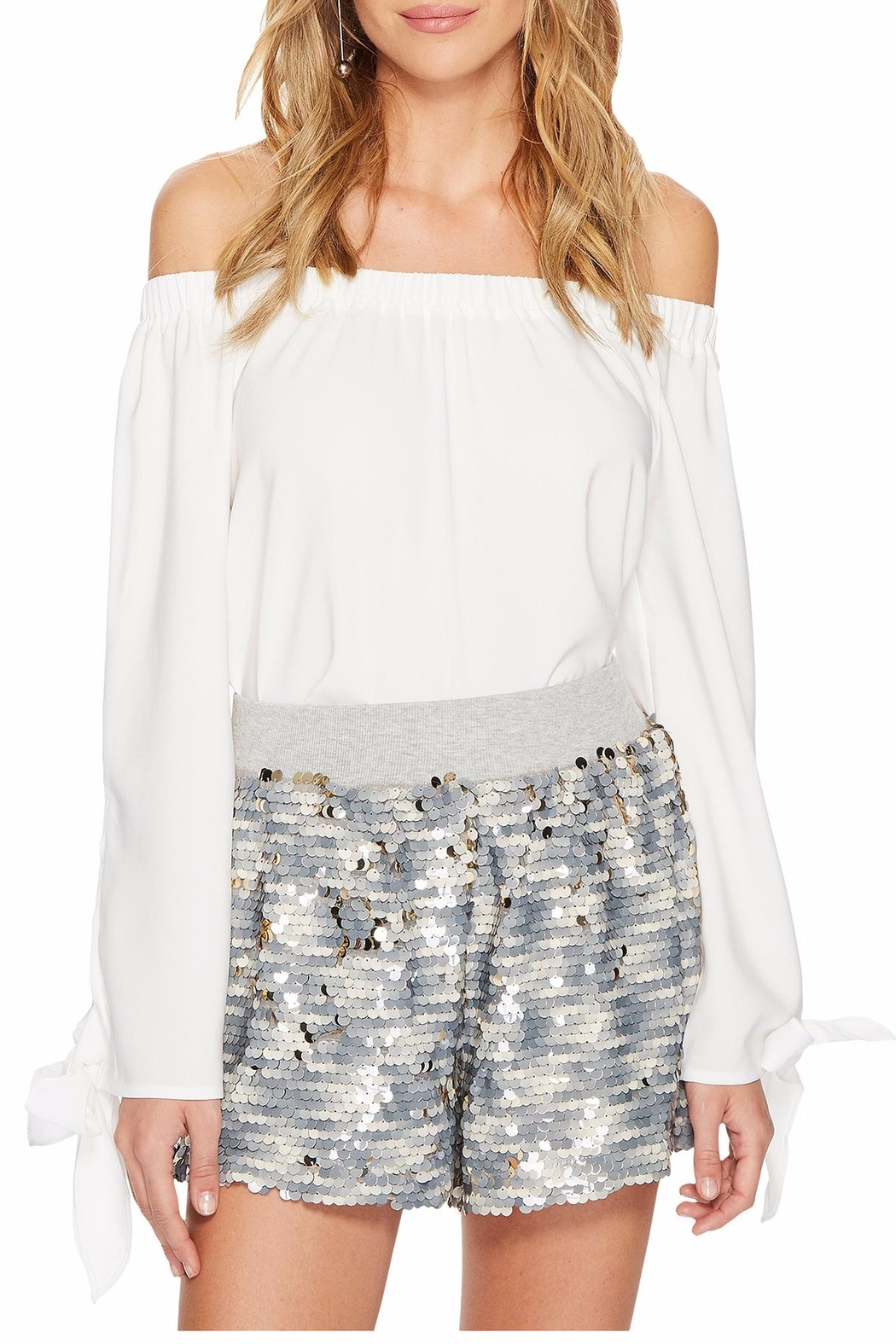 Bishop + Young Avery Bare Shoulder Top - Front Cropped Image