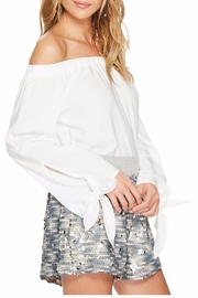 Bishop + Young Avery Bare Shoulder Top - Front full body