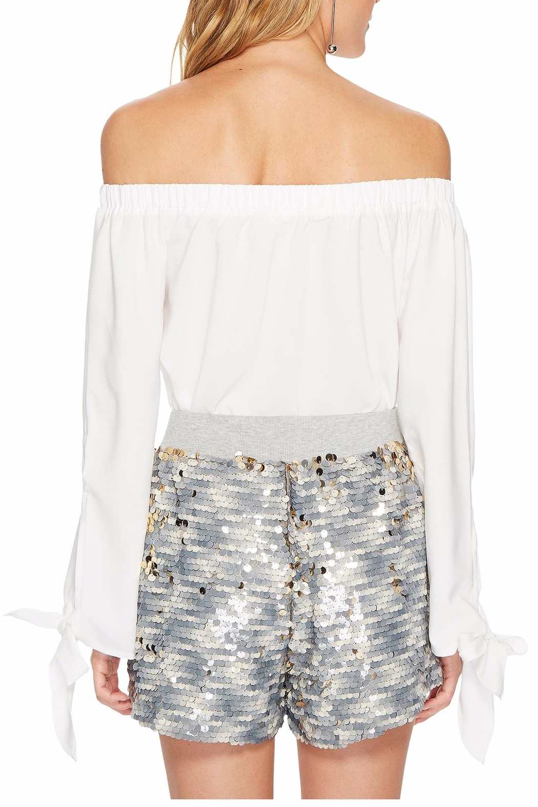 Bishop + Young Avery Bare Shoulder Top - Side Cropped Image