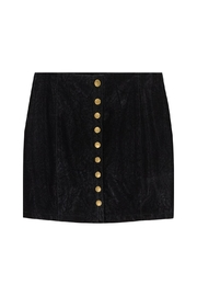 Bishop + Young Button-Up Mini Skirt - Product Mini Image