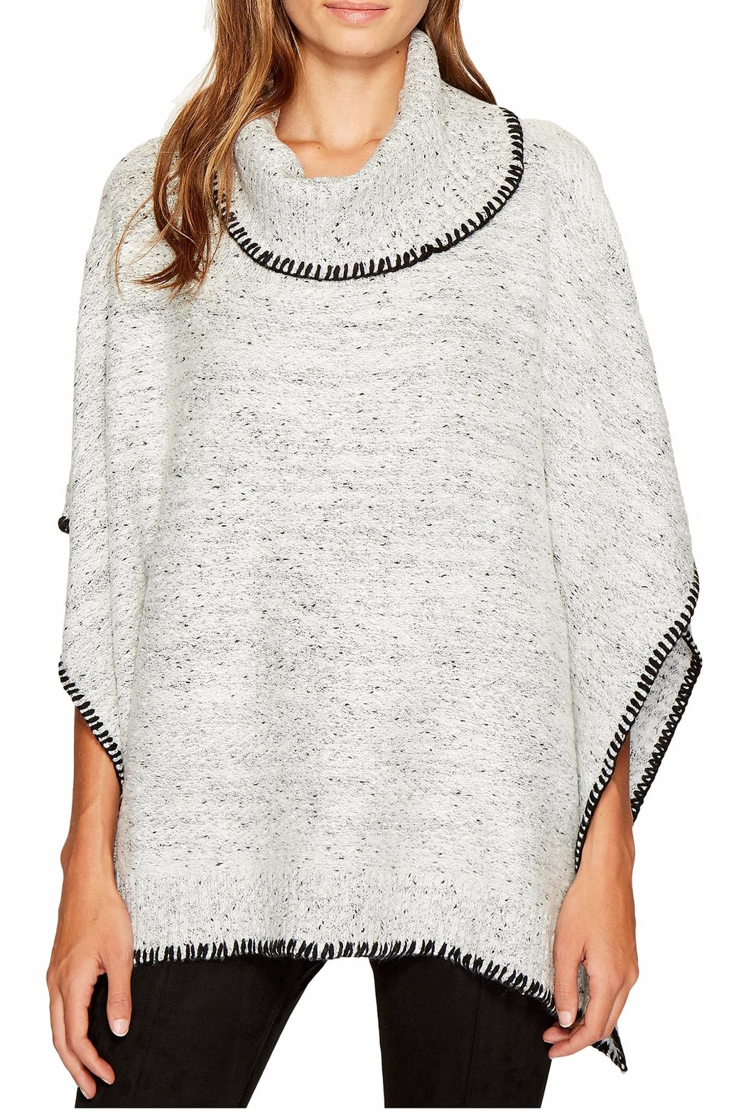 Bishop + Young Dolman Speckled Poncho - Main Image