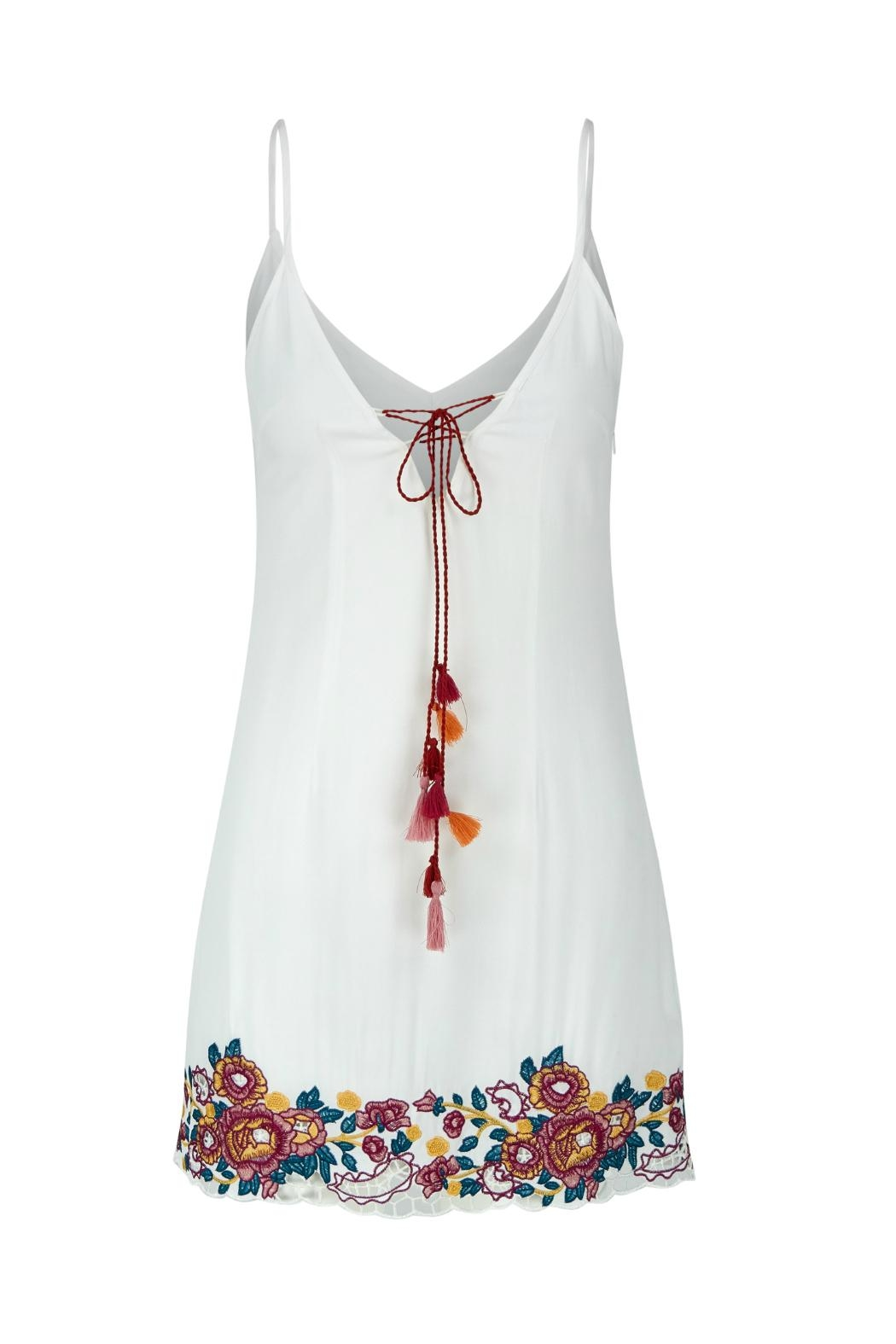 Bishop + Young Embroidered Shift Dress - Main Image