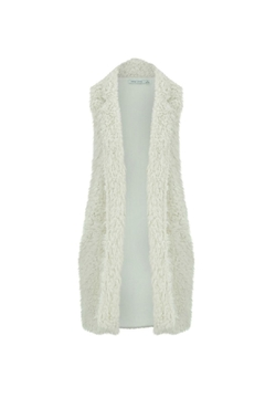 Bishop + Young Faux-Fur Fringe Vest - Product List Image