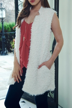 Bishop + Young Faux-Fur Fringe Vest - Alternate List Image