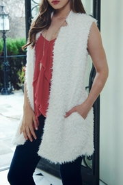 Bishop + Young Faux-Fur Fringe Vest - Front full body