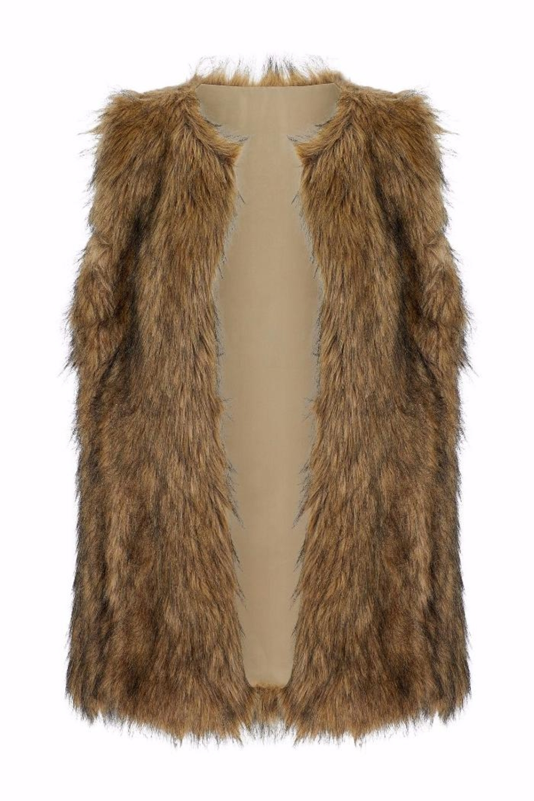 Bishop + Young Faux Fur Vest - Front Cropped Image