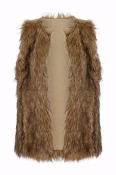 Bishop + Young Faux Fur Vest - Alternate List Image