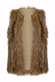 Bishop + Young Faux Fur Vest - Front cropped