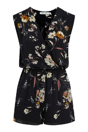 Bishop + Young Floral Printed Romper - Product Mini Image