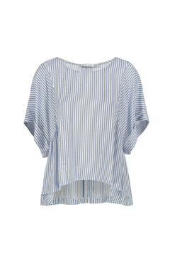 Bishop + Young Flowy Striped Blouse - Alternate List Image
