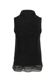 Bishop + Young Mock Neck Sweater Tank - Product Mini Image
