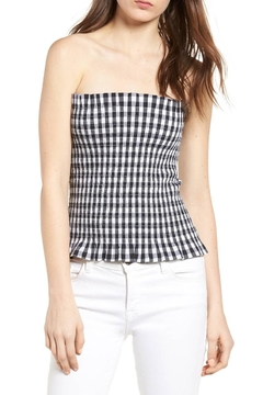 Shoptiques Product: Gingham Tube Top